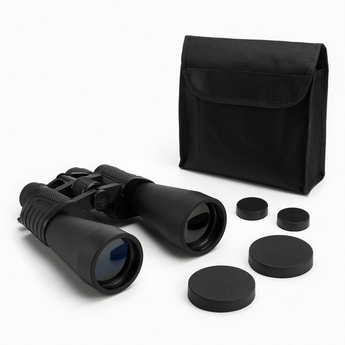 Бинокль 10-30х60, Мастер К. с регулируемым зумом 10-30, черный, линзы рубин,