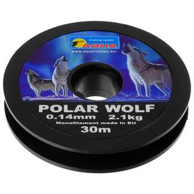 AQUA Polar Wolf fishing line, 0.14 mm, 30 m