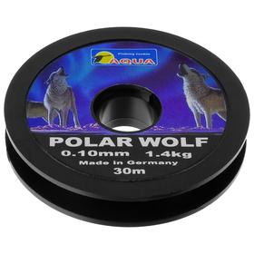 AQUA Polar Wolf fishing line, 0.10 mm, 30 m