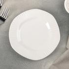 "Тарелка пирожковая ""Антик"" 16,5х2 см, цвет белый"