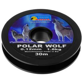 AQUA Polar Wolf 0.12, 30 m fishing line