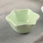 """Салатник """"Лилия"""" 11,5х5,5 см, цвет зеленый"""