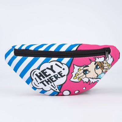 Bag on the belt 32*8*15, otd zip, comics