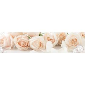 Кухонный фартук ХДФ Чайные розы EP 113 2440х610х3 мм