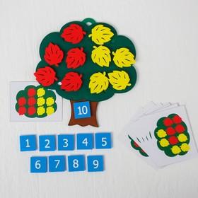 Развивающая игра «Дерево с листьями»