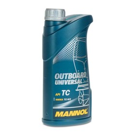 Масло моторное MANNOL 2T мин. Outboard Universal, 1 л