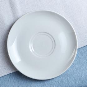 """Блюдце """"Удачное"""", цвет белый, фарфор, 13,5 см"""