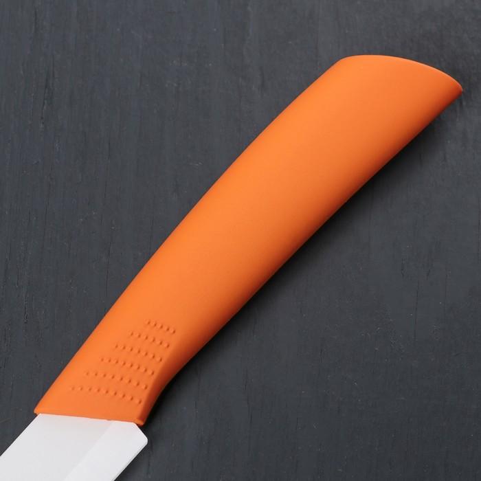 """Нож керамический """"Симпл"""" лезвие 10,5 см, цвета МИКС"""