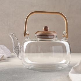 {{photo.Alt || photo.Description || 'Чайник заварочный «Эко», 1,5 л, с металлическим ситом'}}