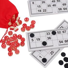 Подарочной набор 3 в 1 «Крутой мужик», домино, лото, карты