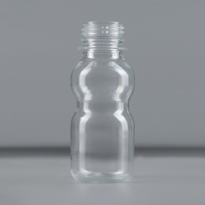 Бутылка «Матрёшка», 70 мл, ПЭТ, прозрачная, без крышки