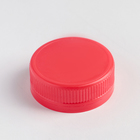 Cover for milk bottles 38 mm: 0.3 l ;0.5 l;1 l, color red