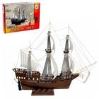 Сборная модель-копия «Парусный военный корабль «Орёл»
