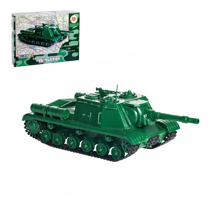 """Сборная модель """"Самоходная установка ИСУ-152"""""""
