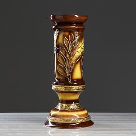 """Колонна """"Абстракция"""", коричневая, 60 см"""