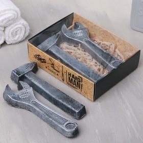 Набор Hard man мыло ключ, мыло молоток