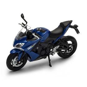 Модель мотоцикла Suzuki GSX S1000F, масштаб 1:18
