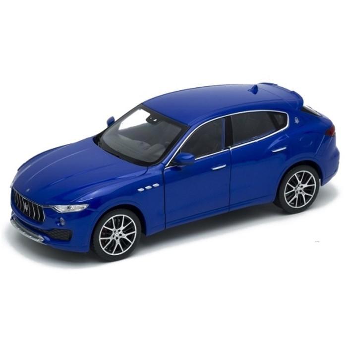 Коллекционная модель машины Maserati Levante, масштаб 1:24 — купить в интернет-магазине Детский мирок