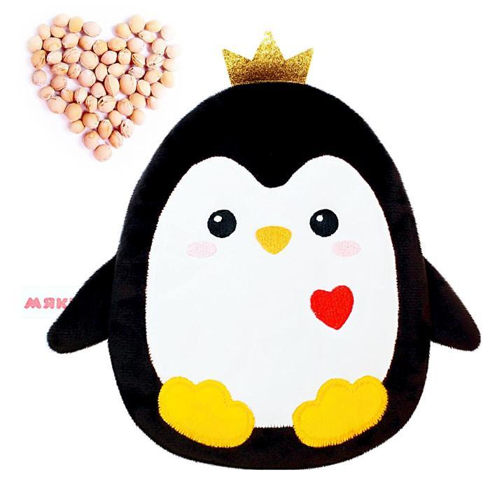 Развивающая игрушка-грелка «Пингвинёнок» - фото 7640573