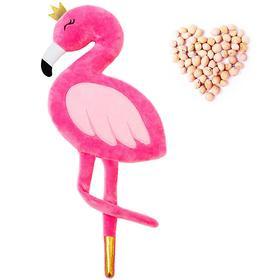 Развивающая игрушка-грелка «Фламинго»