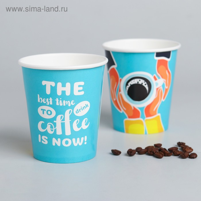 """Glass paper for coffee """"Coffee"""", 250ml"""