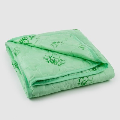 Quilted blanket Bamboo, size 145х205 cm, bumbulbee fiber, case PE 100%