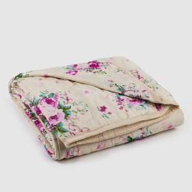 Одеяло стеганое «Овечка», размер 145х205 см, искуств. овечья шерсть, чехол ПЭ 100%