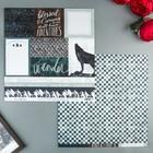 Бумага для скрапбукинга Heidi Swapp - Коллекция «Wolf Pack» - Лист «Trailblazer»