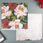 Бумага для скрапбукинга Heidi Swapp - Коллекция «Honey&Spice» - Лист «La Fleur»