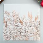 Веллум с фольгированием розовое золото Heidi Swapp - Honey&Spice