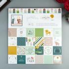 Набор бумаги для скрапбукинга Pebbles - Коллекция «Peek-A-Boo You» - Boy - 30.5х30.5 см (36   473540