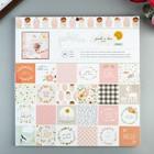 Набор бумаги для скрапбукинга Pebbles - Коллекция «Peek-A-Boo You» - Girl - 30.5х30.5 см (36   47354