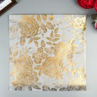 Веллум с золотым фольгированием Crate Paper - Golden - Коллекция «Willow Lane»