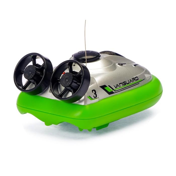 Катер радиоуправляемый, на воздушной подушке, цвета МИКС