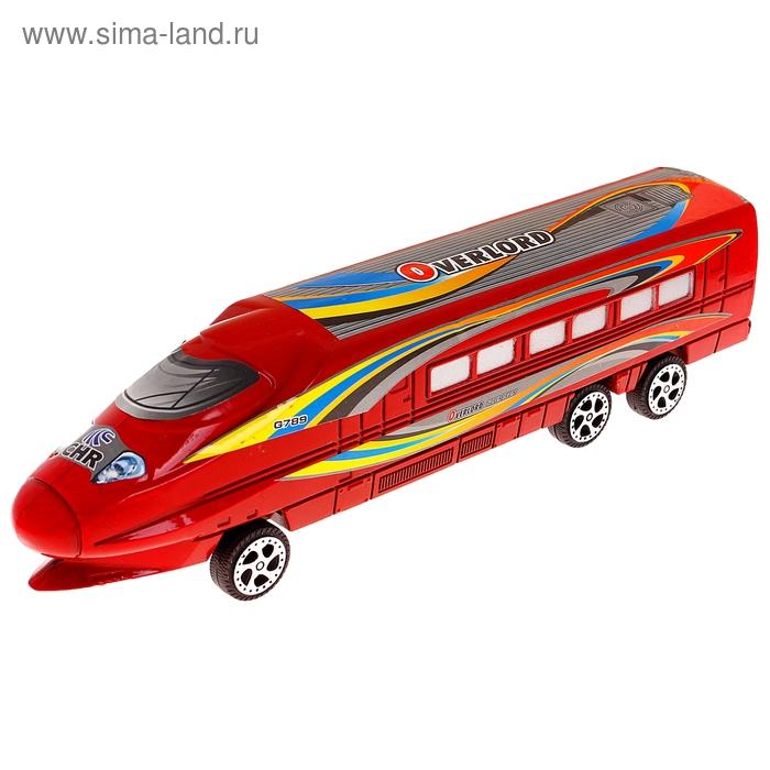 Поезд инерционный, цвета МИКС