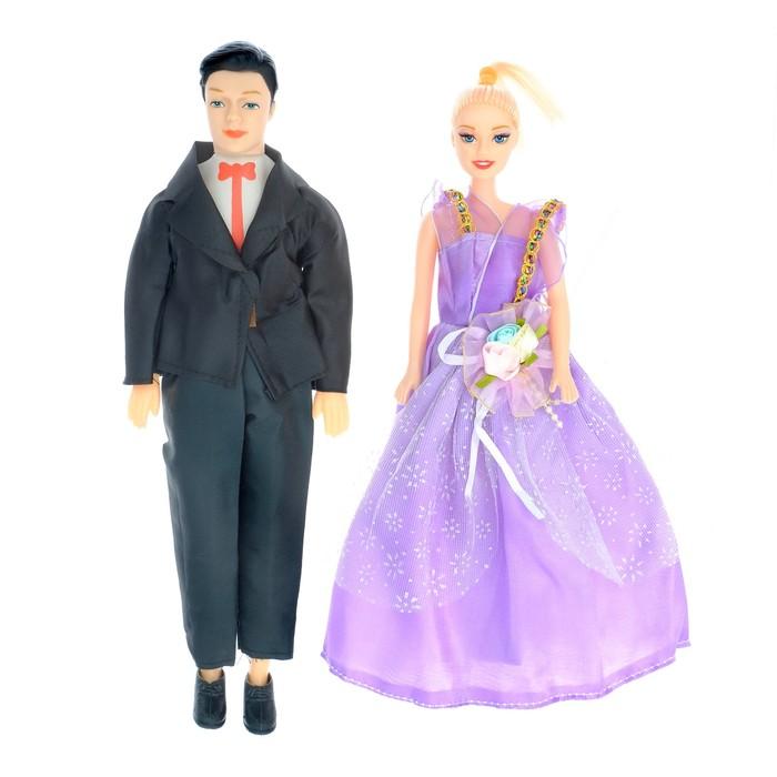 Игровой набор кукол «Молодая семья», МИКС