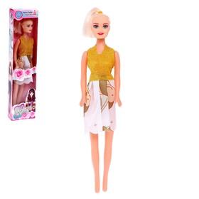Кукла «Линда» в платье, МИКС