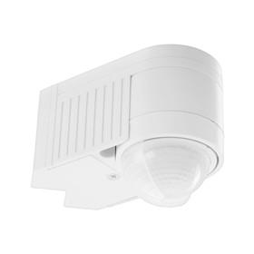 Датчик движения REV Ritter DD-6 3xdetector 360°, 1200Вт, 12м, IP65, настенный, угловой,белый