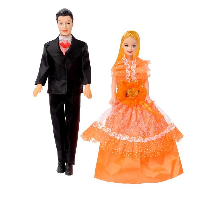 """Набор кукол """"Свадебная церемония"""", МИКС"""