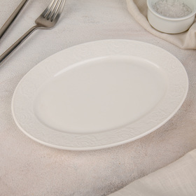 Plate the oval