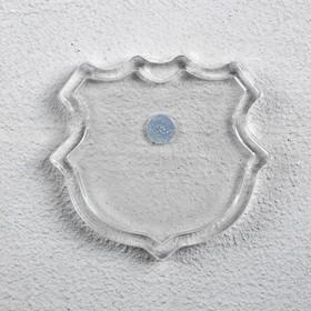Billet magnet coat of arms set of 2 details (insert3.7x3.5cm) 4.5x4.1cm
