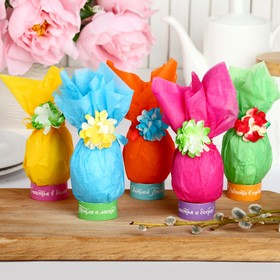 "Easter set to decorate eggs ""Gifts"", 9.8 x 15.3 x 1.1 cm"