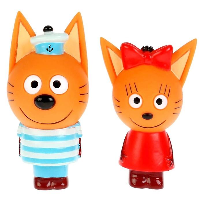 Игрушка для ванны «Три Кота. Карамелька и Коржик»