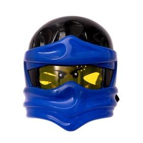 Mask Ninja, light effects, color blue