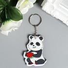 EVA keychain Panda MIX 6x4,6 cm