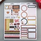 Набор стикеров из кардстока Heidi Swapp - Коллекция «Honey&Spice» (55 шт)