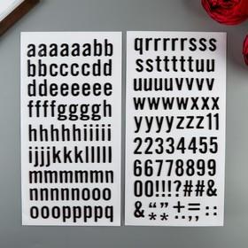 Набор стикеров-алфавит из чипборда Heidi Swapp - «Honey&Spice» - 175 шт