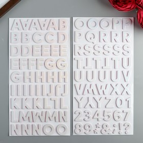 Стикеры-алфавит из фоамирана Dear Lizzy - Коллекция «She'sMagic» - 108 шт
