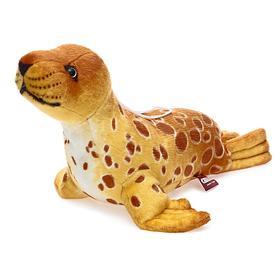 Мягкая игрушка «Тюлень Кроха S», цвет коричневый, 35 см