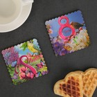 """Set""""on March 8!"""", 2 muffin Cup, 9,2*9,2*0,4 cm"""